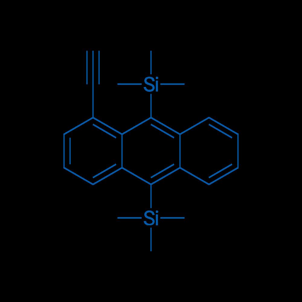 (1-Ethynylanthracene-9,10-diyl)bis(trimethylsilane)