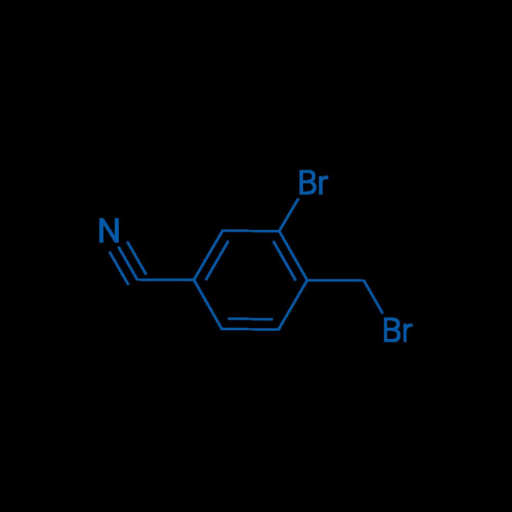 3-Bromo-4-(bromomethyl)benzonitrile