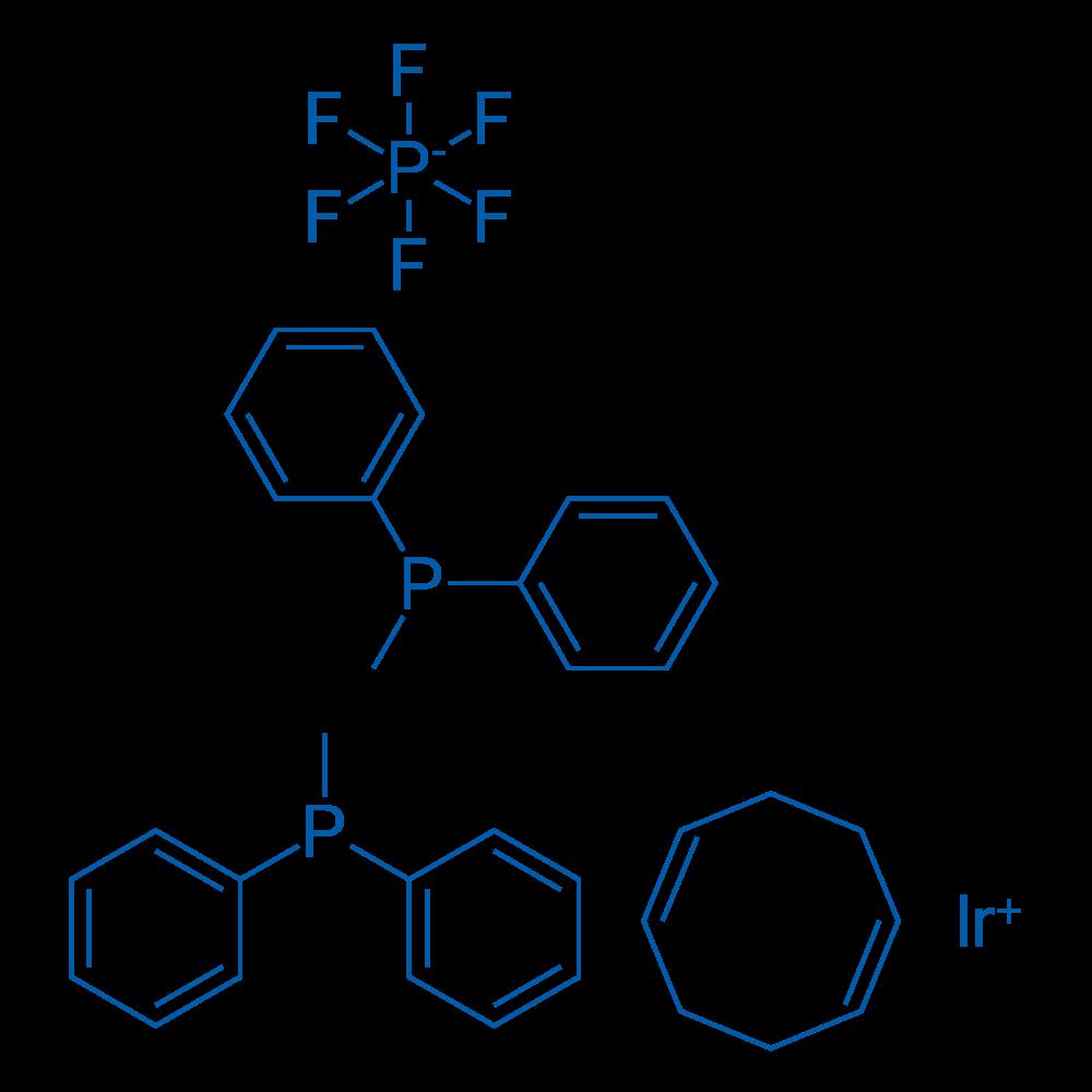 (1,5-Cyclooctadiene)bis(methyldiphenylphosphine)iridium(I) hexafluorophosphate