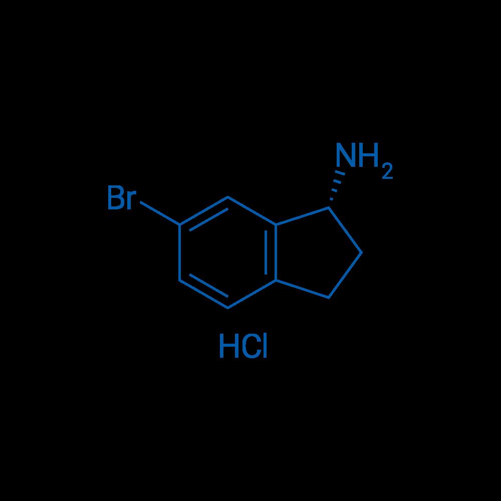 (R)-6-Bromo-2,3-dihydro-1H-inden-1-amine hydrochloride