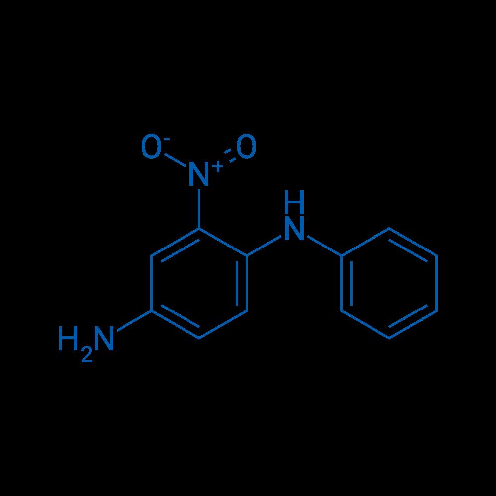 2-Nitro-4-aminodiphenylamine