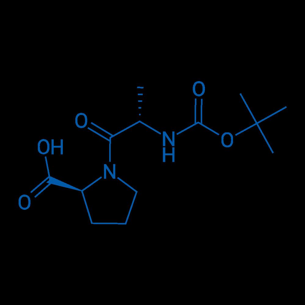(S)-1-((S)-2-((tert-Butoxycarbonyl)amino)propanoyl)pyrrolidine-2-carboxylic acid