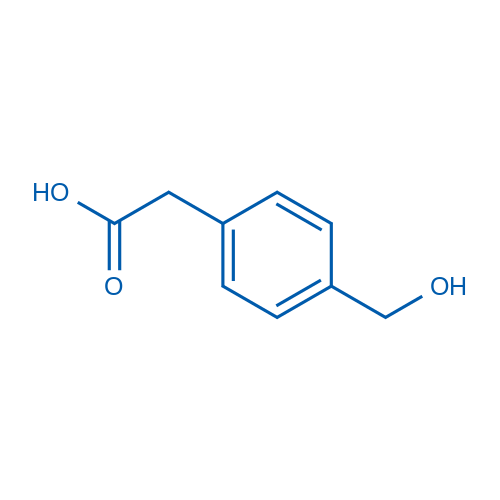 2-(4-(Hydroxymethyl)phenyl)acetic acid