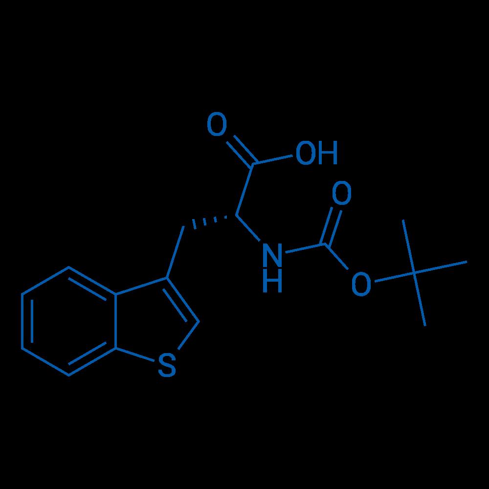(R)-3-(Benzo[b]thiophen-3-yl)-2-((tert-butoxycarbonyl)amino)propanoic acid