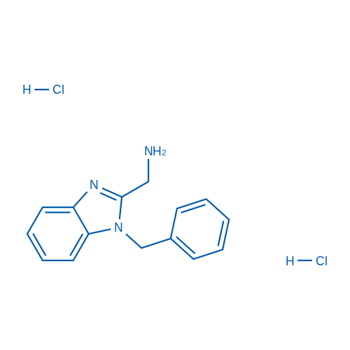 (1-Benzyl-1H-benzo[d]imidazol-2-yl)methanamine dihydrochloride