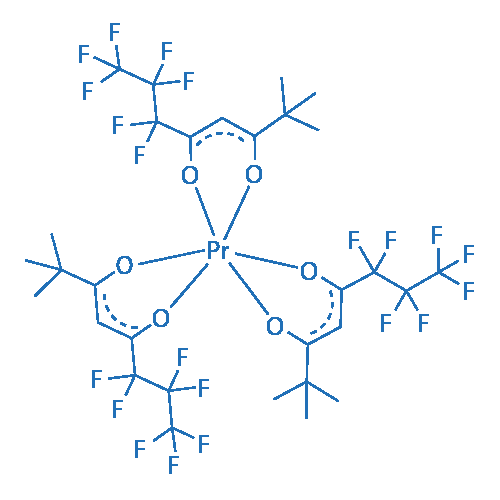 Tris(6,6,7,7,8,8,8-heptafluoro-2,2-dimethyl-3,5-octanedionate)praseodymium(III)