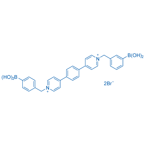 1,1'-Bis(4-boronobenzyl)-[4,4'-bipyridine]-1,1'-diium bromide