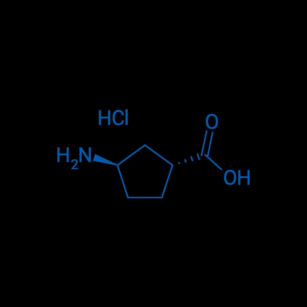 trans-3-Aminocyclopentanecarboxylic acid hydrochloride