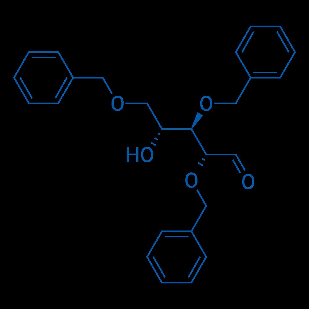 (2R,3R,4R)-2,3,5-Tris(benzyloxy)-4-hydroxypentanal