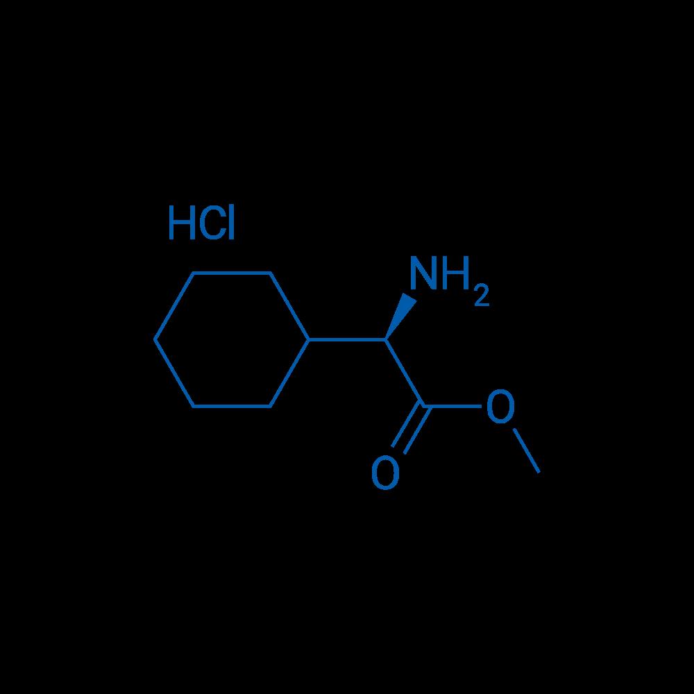 (R)-Methyl 2-amino-2-cyclohexylacetate hydrochloride