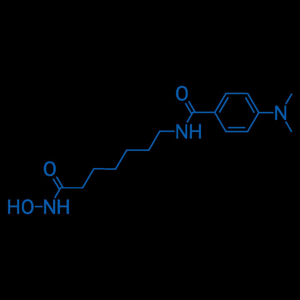 4-(Dimethylamino)-N-(7-(hydroxyamino)-7-oxoheptyl)benzamide
