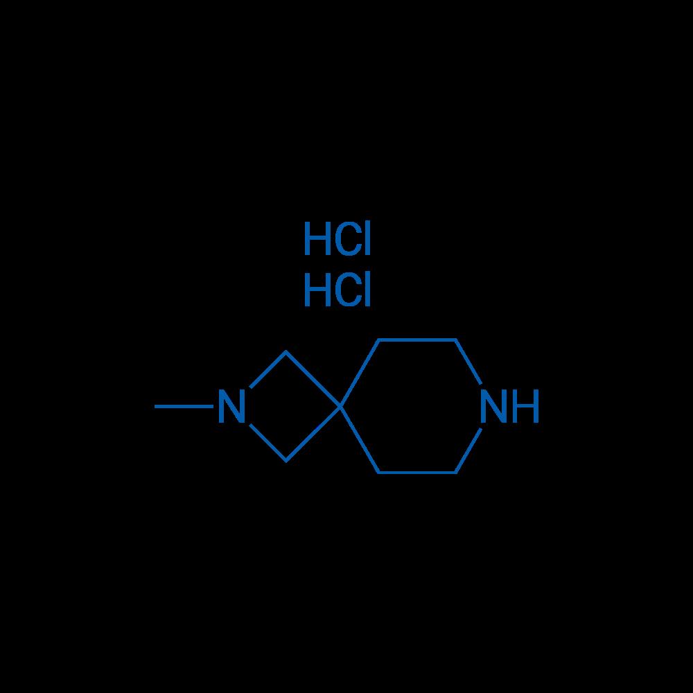 2-Methyl-2,7-diazaspiro[3.5]nonane dihydrochloride