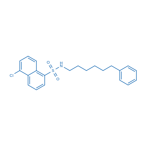5-Chloro-N-(6-phenylhexyl)naphthalene-1-sulfonamide