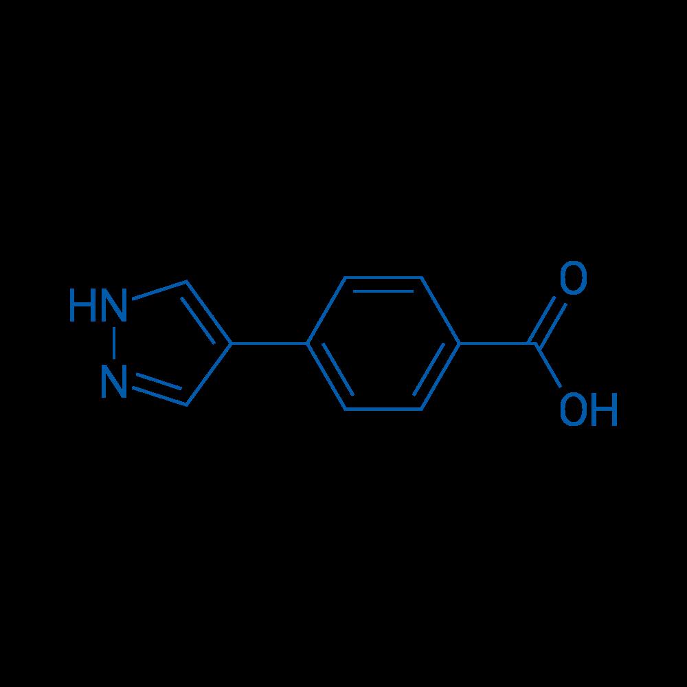 4-(1H-Pyrazol-4-yl)benzoic acid