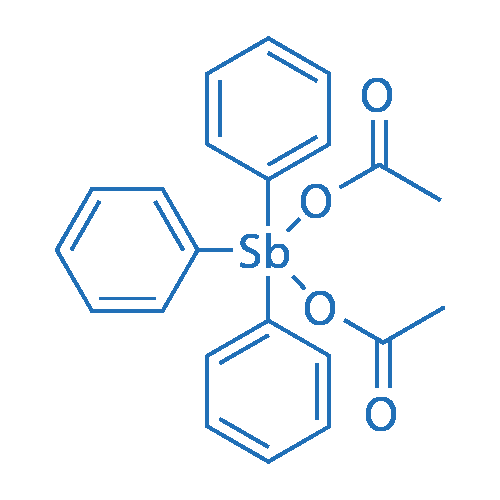 Triphenylantimonydiacetate