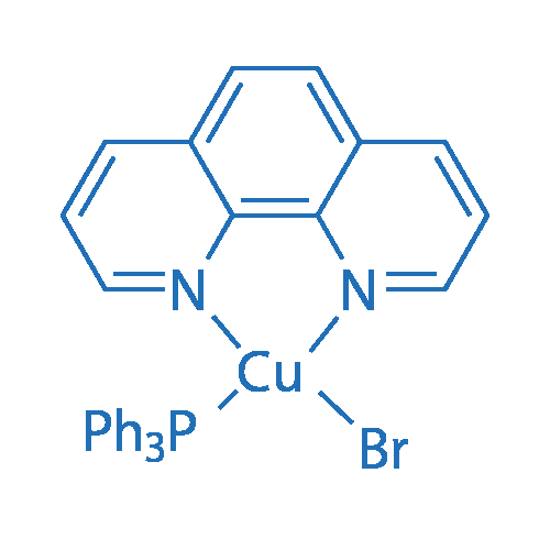 Bromo(1,10-phenanthroline)(triphenylphosphine)copper(I)