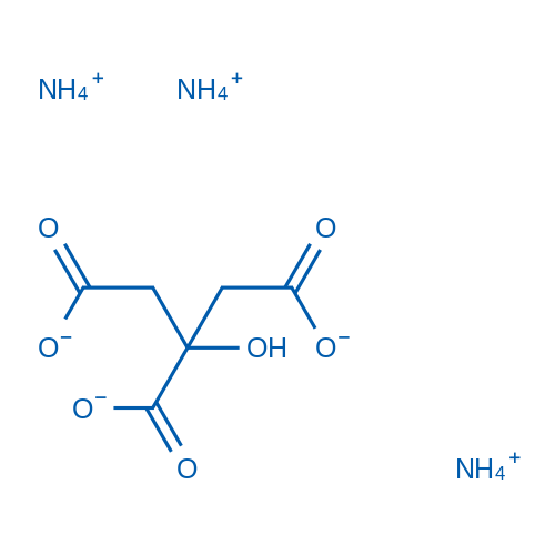 2-Hydroxy-1,2,3-propanetricarboxylic acid triammonium salt