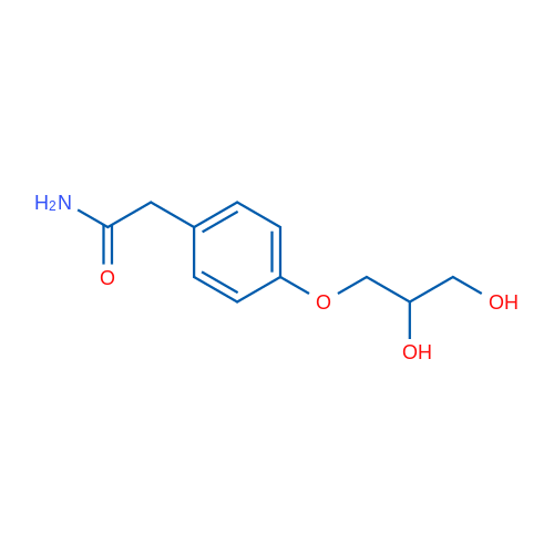 2-(4-(2,3-Dihydroxypropoxy)phenyl)acetamide