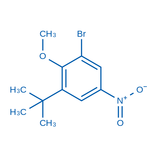 1-Bromo-3-(tert-butyl)-2-methoxy-5-nitrobenzene
