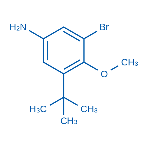 3-Bromo-5-(tert-butyl)-4-methoxyaniline