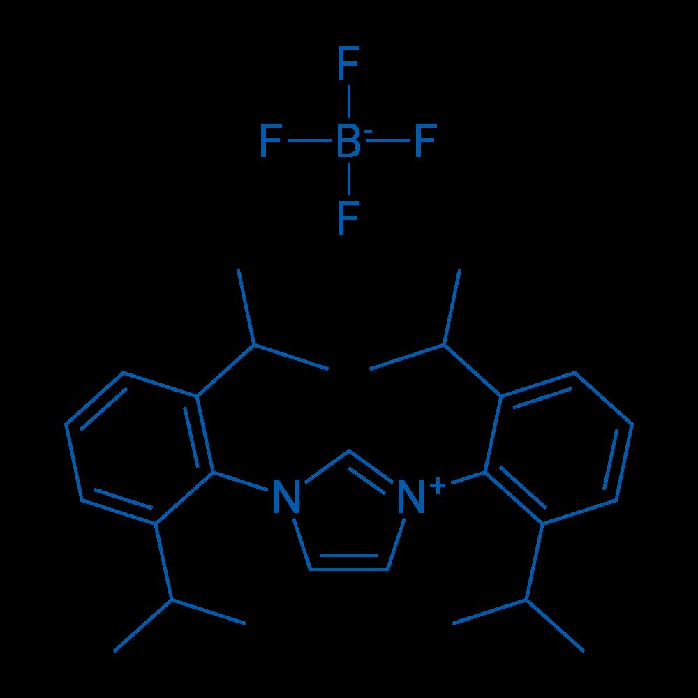 1,3-Bis(2,6-diisopropylphenyl)-1H-imidazol-3-ium tetrafluoroborate