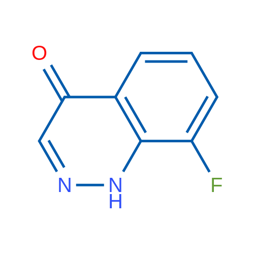 8-Fluorocinnolin-4(1H)-one
