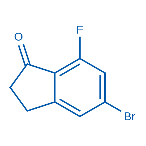 5-Bromo-7-fluoro-2,3-dihydro-1H-inden-1-one