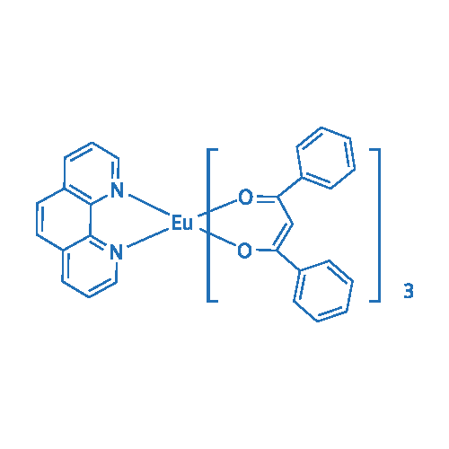 Tris(1,3-diphenyl-1,3-propanedionato)(1,10-phenanthroline)europium(III)