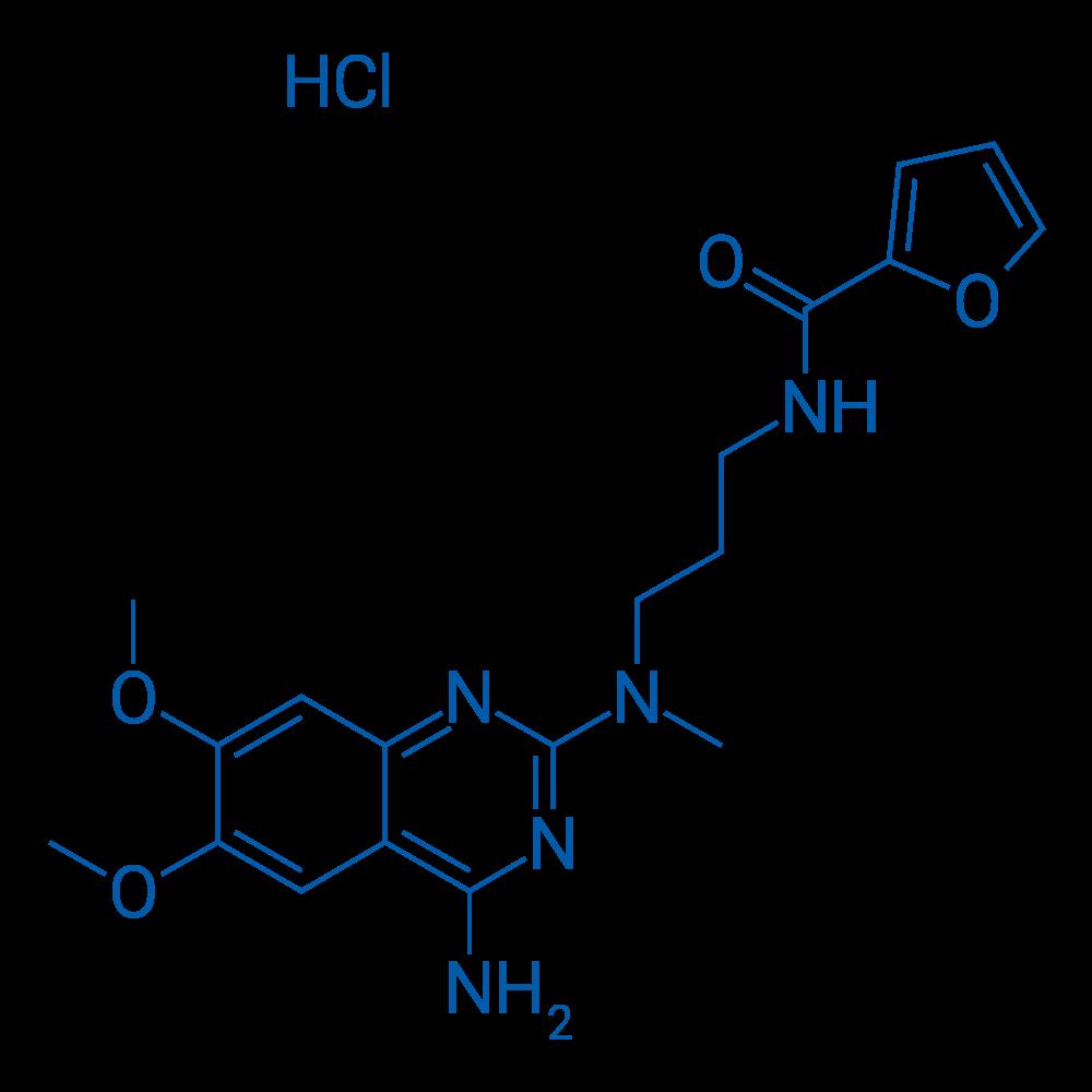 N-(3-((4-Amino-6,7-dimethoxyquinazolin-2-yl)(methyl)amino)propyl)furan-2-carboxamide hydrochloride