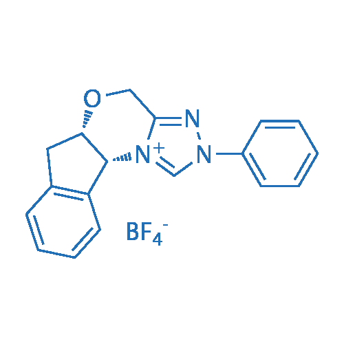 (5aS,10bR)-2-Phenyl-4,5a,6,10b-tetrahydro-2H-indeno[2,1-b][1,2,4]triazolo[4,3-d][1,4]oxazin-11-ium tetrafluoroborate