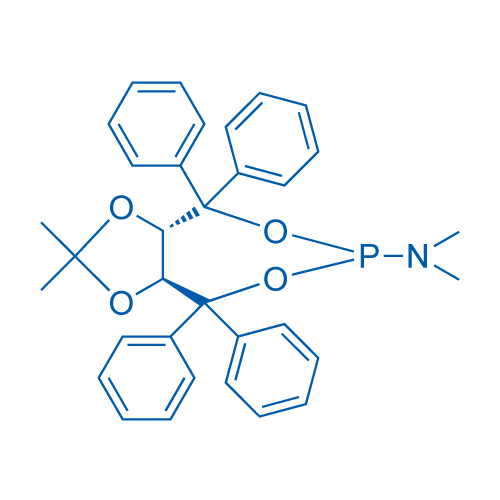 (3aS,8aS)-(2,2-Dimethyl-4,4,8,8-tetraphenyltetrahydro-[1,3]dioxolo[4,5-e][1,3,2]dioxaphosphepin-6-yl)dimethylamine