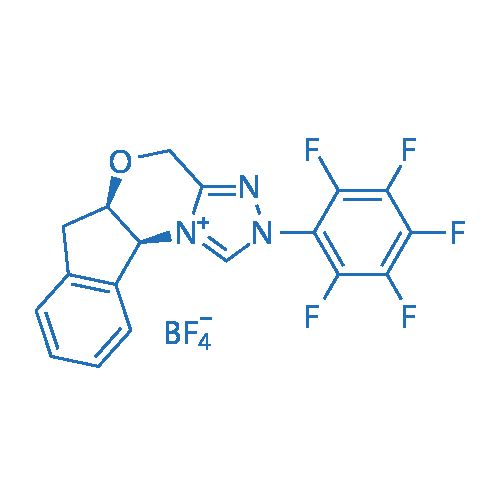 (5aR,10bS)-2-(Perfluorophenyl)-4,5a,6,10b-tetrahydro-2H-indeno[2,1-b][1,2,4]triazolo[4,3-d][1,4]oxazin-11-ium tetrafluoroborate