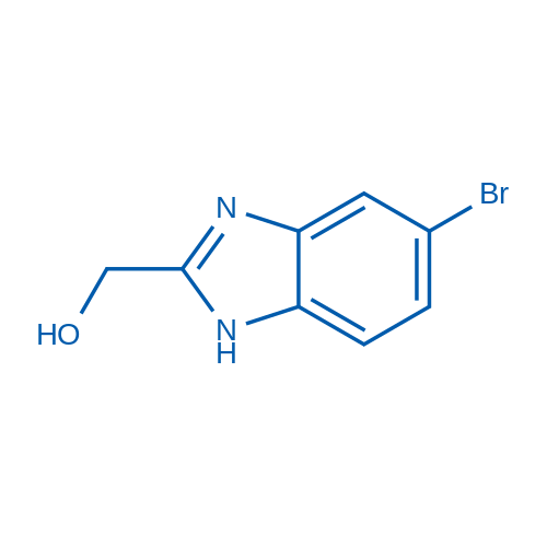 2-(Hydroxymethyl)-5-bromobenzimidazole