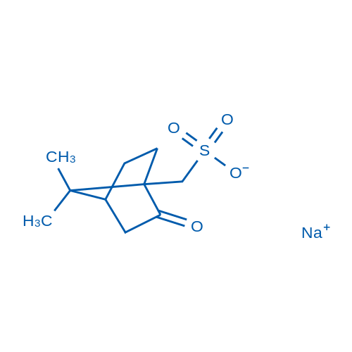 10-Camphorsulfonic acid sodium salt