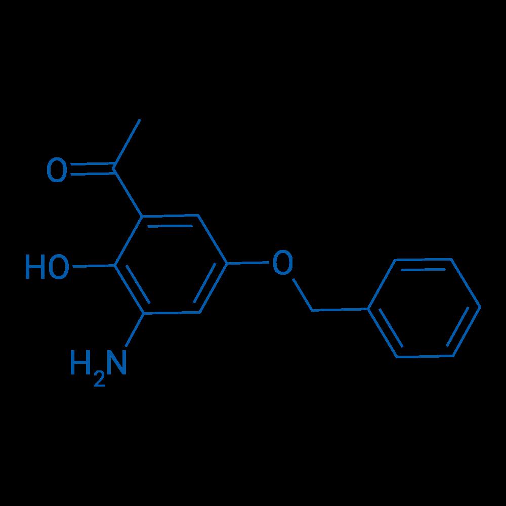1-(3-Amino-5-(benzyloxy)-2-hydroxyphenyl)ethanone