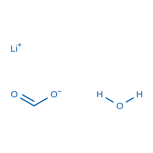 Lithium formate hydrate