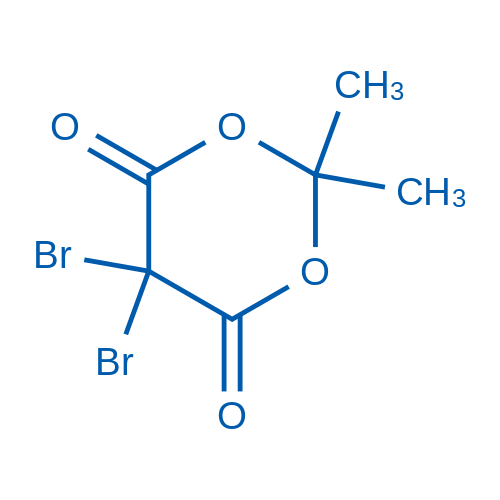 5,5-Dibromo-2,2-dimethyl-1,3-dioxane-4,6-dione