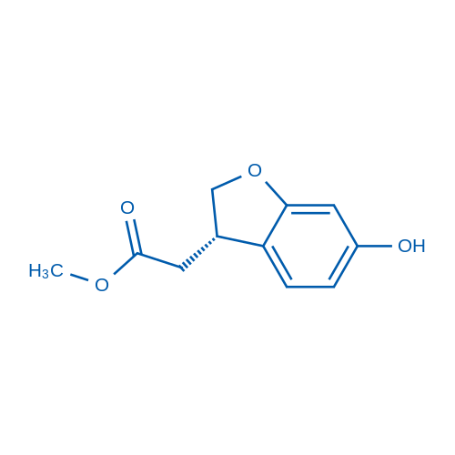 (S)-Methyl 2-(6-hydroxy-2,3-dihydrobenzofuran-3-yl)acetate