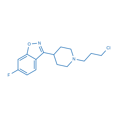 3-(1-(3-Chloropropyl)piperidin-4-yl)-6-fluorobenzo[d]isoxazole