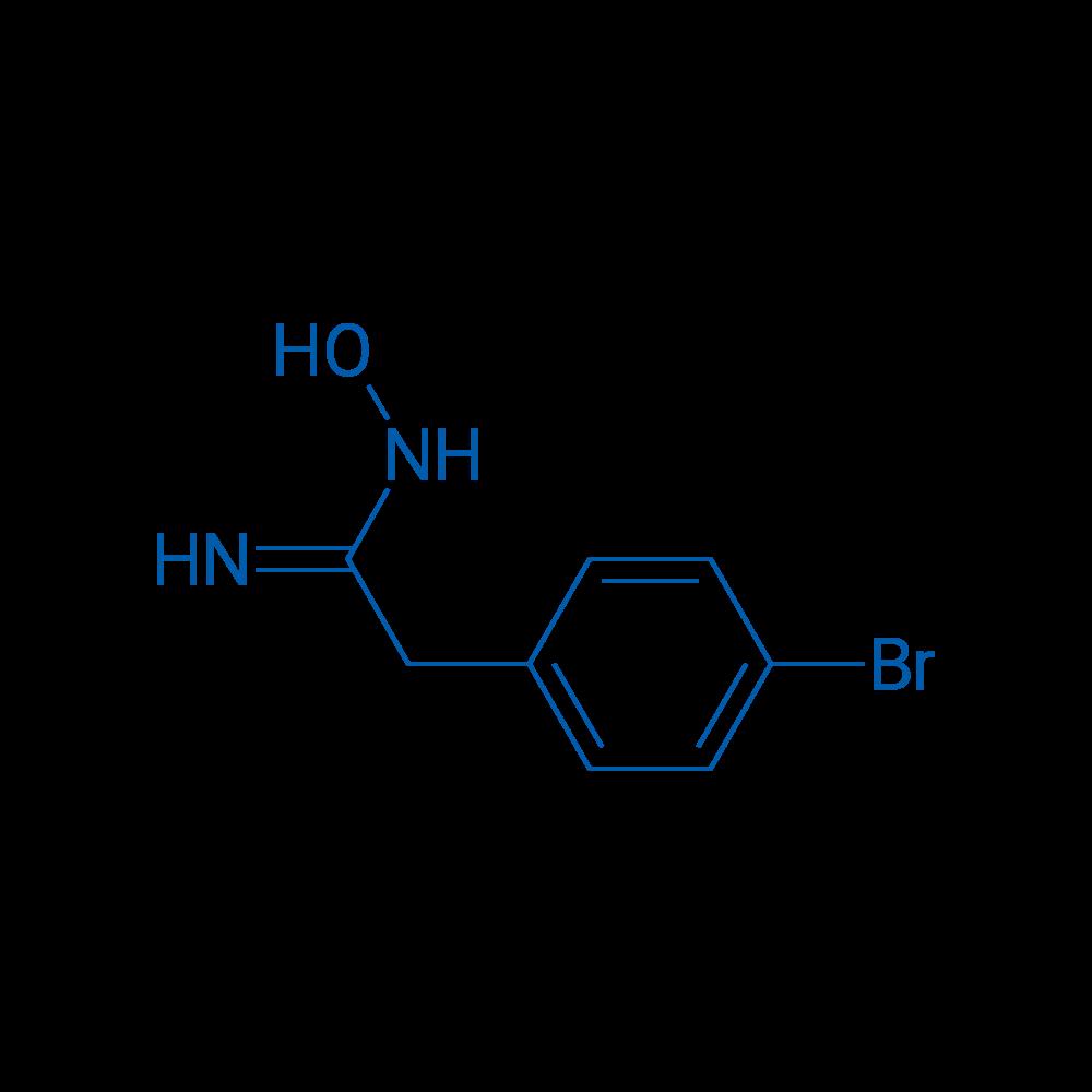 2-(4-Bromophenyl)-N-hydroxyacetimidamide