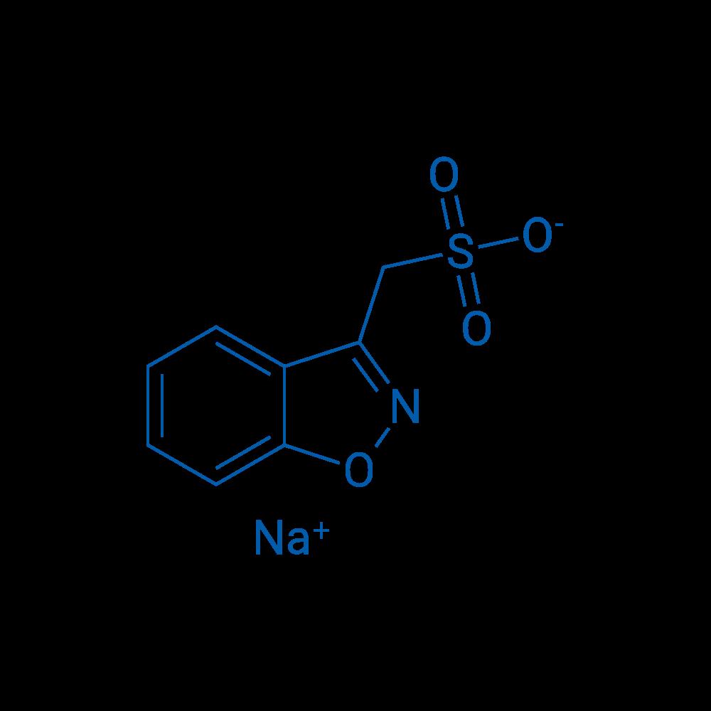 1,2-Benzisoxazole-3-methanesulfonate Sodium Salt