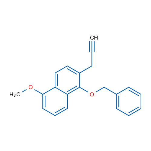 1-(Benzyloxy)-5-methoxy-2-(prop-2-yn-1-yl)naphthalene