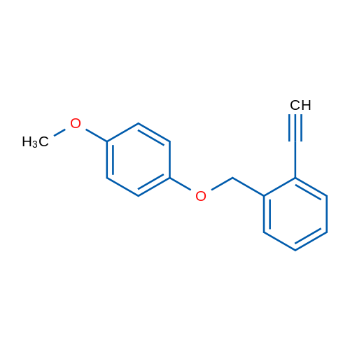 1-Ethynyl-2-((4-methoxyphenoxy)methyl)benzene