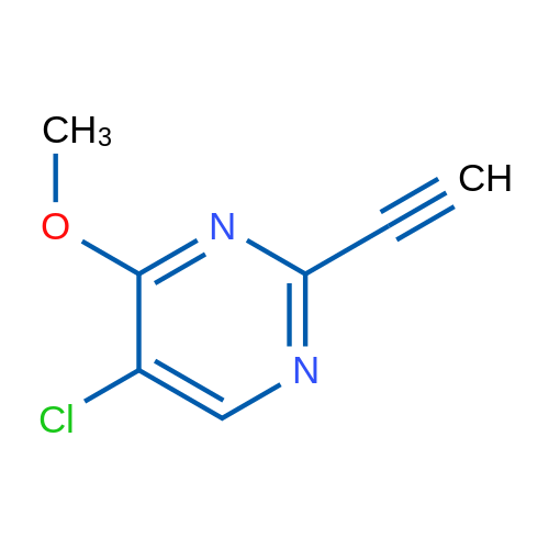 5-Chloro-2-ethynyl-4-methoxypyrimidine