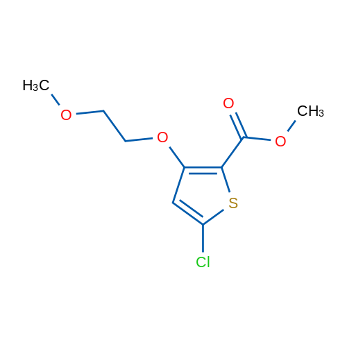 Methyl 5-chloro-3-(2-methoxyethoxy)thiophene-2-carboxylate