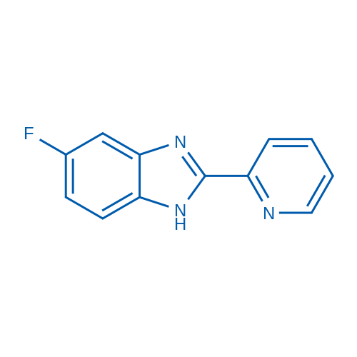 5-Fluoro-2-(pyridin-2-yl)-1H-benzo[d]imidazole