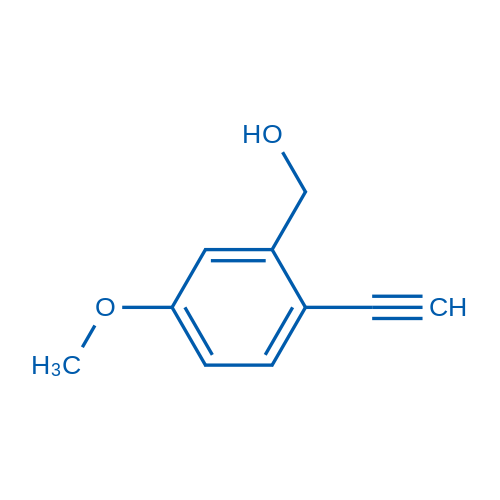 (2-Ethynyl-5-methoxyphenyl)methanol