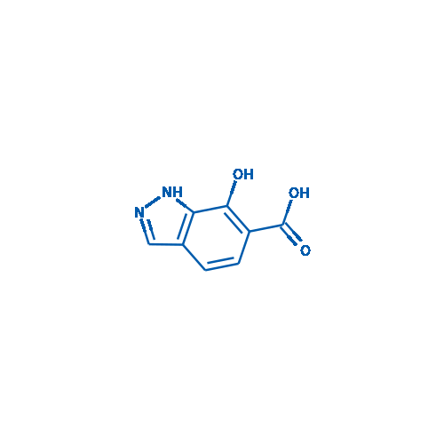 7-Hydroxy-1H-indazole-6-carboxylic acid