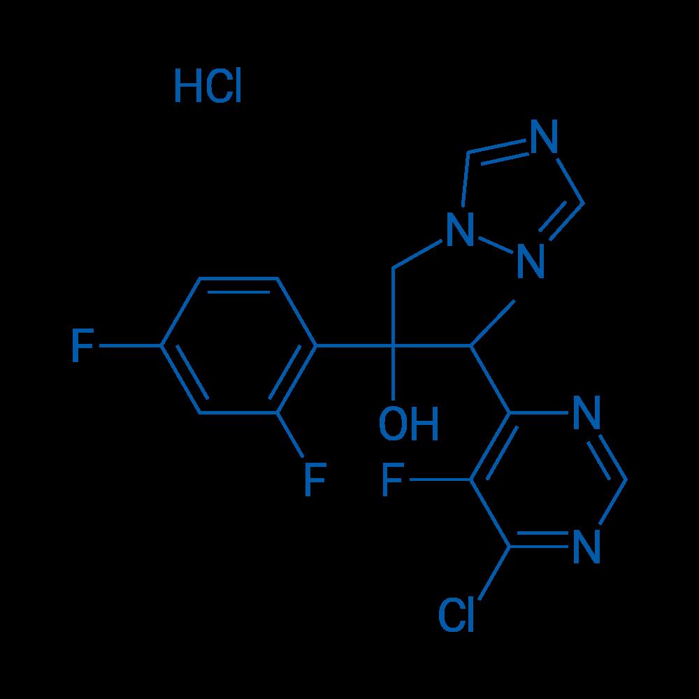 3-(6-Chloro-5-fluoropyrimidin-4-yl)-2-(2,4-difluorophenyl)-1-(1H-1,2,4-triazol-1-yl)butan-2-ol hydrochloride
