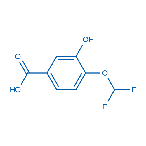 4-(Difluoromethoxy)-3-hydroxybenzoic acid